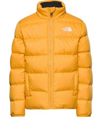 y reversible andes jacket gevoerd jack geel the north face