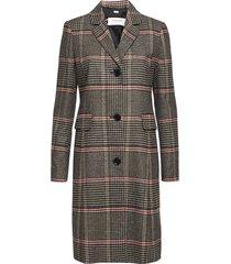 coat wool dunne lange jas grijs gerry weber edition