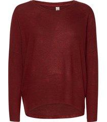 sc-biara stickad tröja röd soyaconcept