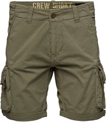 crew short shorts casual grön alpha industries