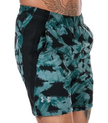 mens launch sw 18 cm printed shorts