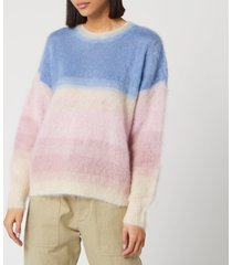 isabel marant étoile women's drussell sweater - blue - fr 40/uk 12
