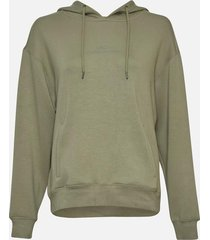 moss copenhagen | ima logo hood sweatshirt