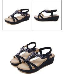 sandalias sandalias de cuña de mujer