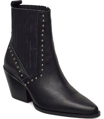 boot 6,5 cm shoes boots ankle boots ankle boot - heel svart sofie schnoor