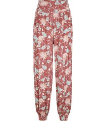pantaloni alla turca in jersey loose fit (rosso) - bpc bonprix collection