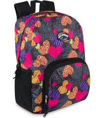 mochila hearts estampada m.color para mujer croydon