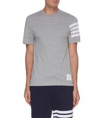 bar stripe crewneck t-shirt