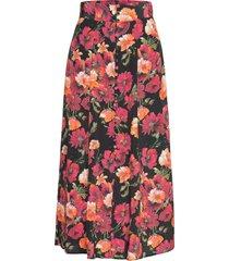 jupe knälång kjol multi/mönstrad the kooples