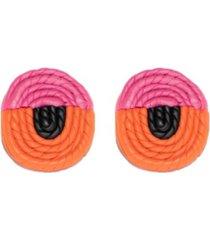 swanky designs fanta basket stud earrings