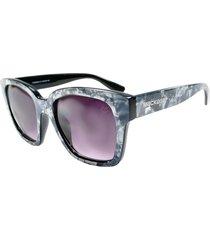 óculos de sol marmorizado mackage mk86005c cinza