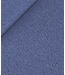 giacca da uomo su misura, vitale barberis canonico, flanella blu ceruleo natural stretch, autunno inverno | lanieri