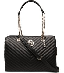 blakely lrg girlfriend satchel bags top handle bags zwart guess