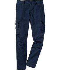 pantaloni cargo termici con teflon loose fit (blu) - bpc selection