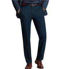 pantalon clark fit supima chinos azul brooks brothers