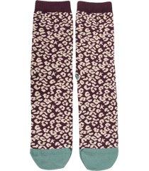 golden goose jacquard print socks