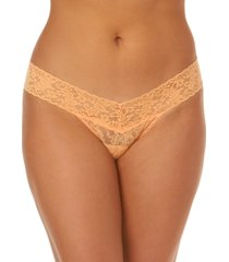 hanky panky signature lace low rise thong underwear 4911