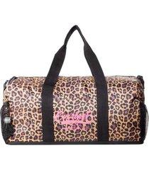 bolso bts leopard negro everlast