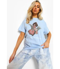 angel t-shirt, light blue
