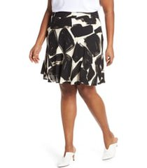 plus size women's nic+zoe nightfall skirt