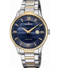 reloj azul candino hombre classic timeless