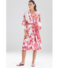 natori bloom sleep & lounge bath wrap robe, women's, size 1x