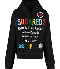 dsquared2 cotton hoodie