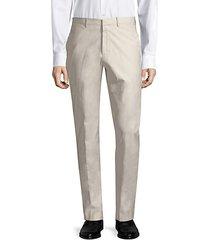 jake cotton blend trousers