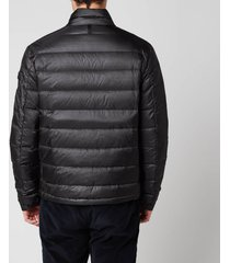 mackage men's james ripstop puffer jacket - black - xl