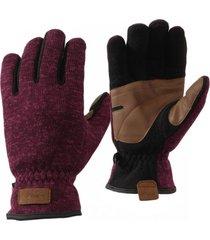 guantes cabin hoods blend-pro melange morado lippi
