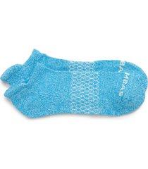 men's bombas marled ankle socks, size large - blue