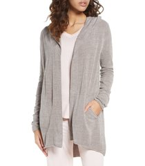 women's barefoot dreams cozychic(tm) ultra lite hooded cardigan
