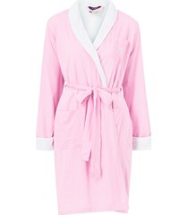 morgonrock lrl essential short shawl collar robe