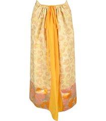 marni leopard-print skirt