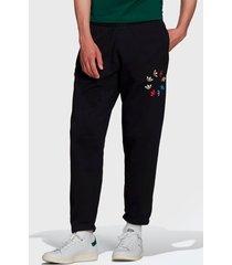 pantalón de buzo adidas originals st sweat pant negro - calce regular