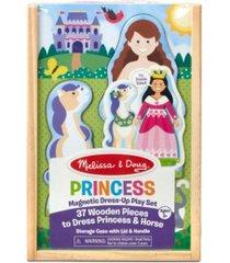 melissa and doug princess magnetic dress-up play set