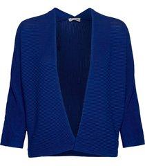 jacket knitwear gebreide trui cardigan blauw gerry weber