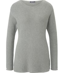 trui met lange mouwen en boothals van mybc grijs