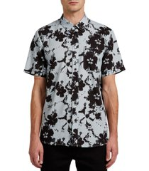 volcom men's hallock short sleeve shirt