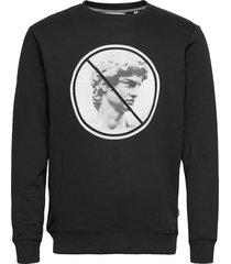 6207707 sdmakin sweat-shirt tröja svart solid