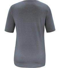 shirt met ronde hals van anna aura grijs
