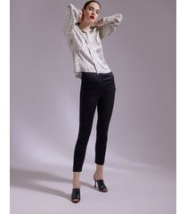 motivi pantaloni skinny super stretch donna nero