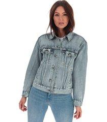 womens ex-boyfriend trucker jacket