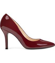 zapato de tacón de mujer fifth 9x93 nine west - rojo