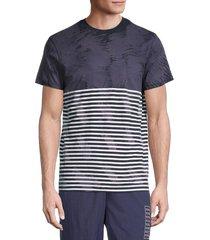 prps men's ypres stripe t-shirt - navy - size xl