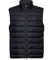 the light down gilet vest zwart gant