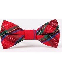 cravatta in cotone a maniche corte bowtie bow bowknot cravatta formale suit bow tie