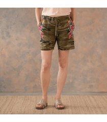 imari linen shorts