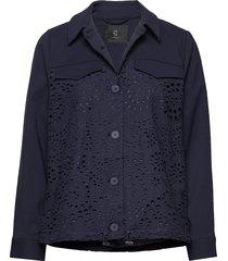 abelina camil jacket sommarjacka tunn jacka blå bruuns bazaar