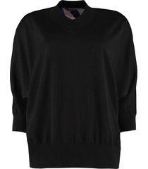 emilio pucci silk and wool sweater